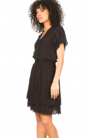 Dante 6 |  Dress with broderie details Leisure | black  | Picture 5