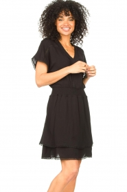 Dante 6 |  Dress with broderie details Leisure | black  | Picture 4