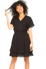 Dante 6 |  Dress with broderie details Leisure | black  | Picture 2