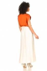 Dante 6 |  Smocked maxi skirt Mahina | natural  | Picture 6