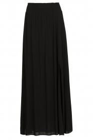 Dante 6 |  Smocked maxi skirt Mahina | black  | Picture 1