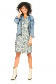 Dante 6 |  Floral dress Oryn | blue  | Picture 3