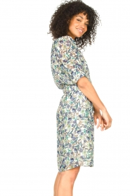 Dante 6 |  Floral dress Oryn | blue  | Picture 6