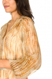 Dante 6 |  Maxi dress with silk Nilsine | natural  | Picture 6