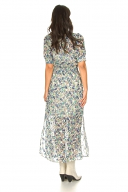 Dante 6 |  Floral maxi dress August | blue  | Picture 7