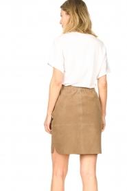 Dante 6 |  Suede Skirt Comet | grey  | Picture 5