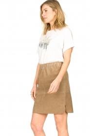 Dante 6 |  Suede Skirt Comet | grey  | Picture 4