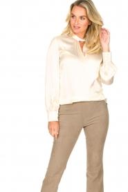 Dante 6 |  Silk blouse Izelle | natural  | Picture 4