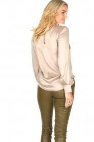 Dante 6 |  Silk blouse Izelle | grey  | Picture 7