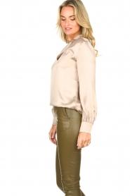 Dante 6 |  Silk blouse Izelle | grey  | Picture 6