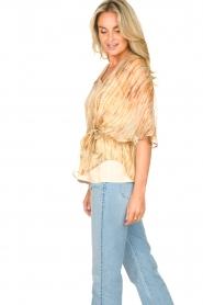 Dante 6 |  Top with silk Mia | natural  | Picture 6