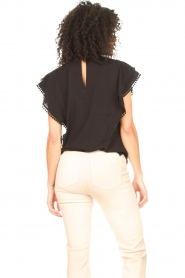 Dante 6 |  Broderie top Justine | black  | Picture 7