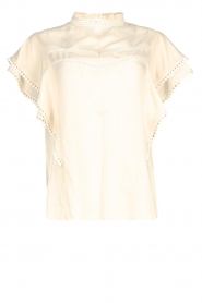 Dante 6 |  Broderie top Justine | natural  | Picture 1