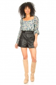 Dante 6 |  Floral top Eloise | blue  | Picture 3