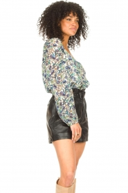 Dante 6 |  Floral top Eloise | blue  | Picture 6