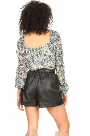 Dante 6 |  Floral top Eloise | blue  | Picture 8