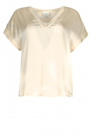 Dante 6 |  Silk stretch top Odette | natural  | Picture 1