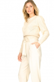 Dante 6 |  Knitted sweater Cleo | natural  | Picture 7
