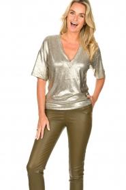 Dante 6 |  Metallic top Rae | silver  | Picture 2