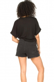 Dante 6 |  T-shirt with text print Rock | black  | Picture 6