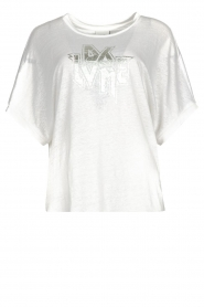 Dante 6 |  T-shirt with text print Rock | white  | Picture 1