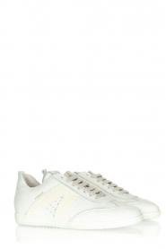 Copenhagen Studio's |  Suede sneakers CPH413 | white  | Picture 3