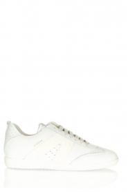 Copenhagen Studio's |  Suede sneakers CPH413 | white  | Picture 1