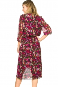 Freebird |  Floral blouse Veda | pink  | Picture 5