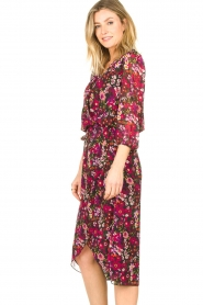 Freebird |  Floral blouse Veda | pink  | Picture 4