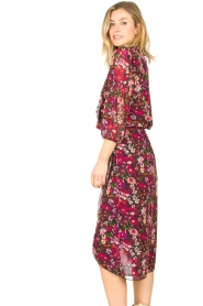 Freebird |  Floral blouse Veda | pink  | Picture 3