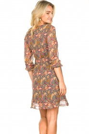 Freebird |  Paisley printed dress Chara | yellow  | Picture 6