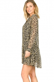 Freebird |  Floral button-up dress Celeste | yellow  | Picture 6