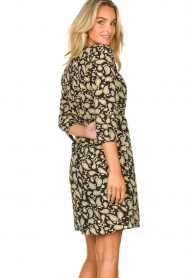 Freebird    Paisley printed wrap dress Odette   black    Picture 7