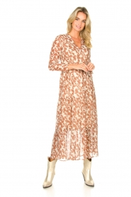 Freebird |  Floral maxi dress Josephine | natural  | Picture 4