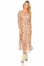 Freebird |  Floral maxi dress Josephine | natural  | Picture 2