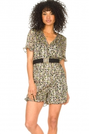 Freebird :  Floral playsuit Rosy | multi - img4