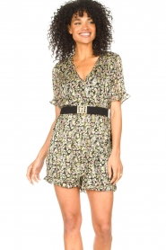 Freebird :  Floral playsuit Rosy | multi - img2