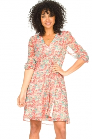 Freebird |  Floral dress Lisanne | pink  | Picture 2