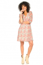 Freebird |  Floral dress Lisanne | pink  | Picture 3