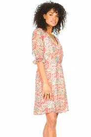 Freebird |  Floral dress Lisanne | pink  | Picture 5