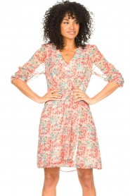 Freebird |  Floral dress Lisanne | pink  | Picture 4