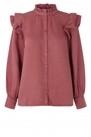 Second Female |  Ruffle blouse Bella | pink  | Picture 1