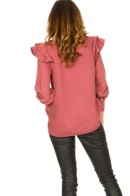 Second Female |  Ruffle blouse Bella | pink  | Picture 7