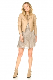 Second Female    Printed blouse Lacing   beige    Picture 3