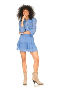 Second Female | Blouse met print Mano | blauw   | Afbeelding 3