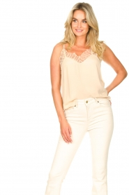 Second Female |  Lace top Nathali | beige  | Picture 4