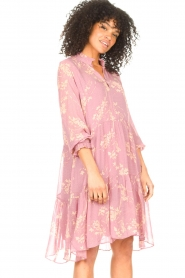 Second Female :  Floral dress Mories | pink - img6
