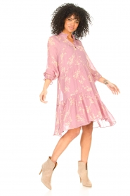 Second Female :  Floral dress Mories | pink - img3