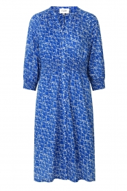 Second Female |  Print midi dress Dayla | blue  | Picture 1