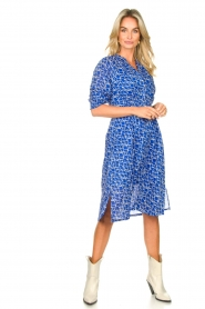 Second Female |  Print midi dress Dayla | blue  | Picture 3